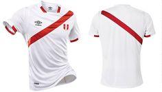 Camisas do Peru 2016-2017 Umbro Copa América Centenário kit
