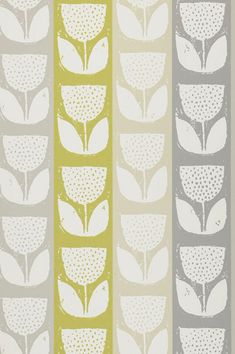 Evie - Sunshine wallpaper, from the Studio Wallpapers collection by Prestigious Textiles Sunshine Wallpaper, Power Wallpaper, Plant Wallpaper, Green Wallpaper, Wallpaper Roll, Classic Wallpaper, Retro Wallpaper, Wallpaper Online, Pattern Wallpaper