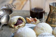 Maâmouls, biscuits libanais fourrés de pâte de datte