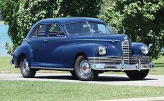 1947 Packard Clipper Super 8 Sedan #ClassicCar #CTins