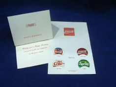 COCA COLA POGS HAWAII SET OF 4 WITH HOLDER, APRIL 1993 and HAPPY BIRTHDAY CARDS #cocacola #coke #pogs #soda #sprite #dietcoke