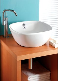 Silverdale - Ascot 37cm Countertop Basin   tecaz.com