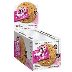 Buy Complete Cookie - BIRTHDAY CAKE (12 Cookie(S)) from the Vitamin Shoppe. Where you can buy Complete Cookie - BIRTHDAY CAKE and other Lenny & Larrys products? Buy at at a discount price at the Vitamin Shoppe online store. Order today and get free shipping on Complete Cookie - BIRTHDAY CAKE (UPC:787692833610)(with orders over $35).