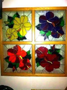 Kitchen Light - Delphi Stained Glass