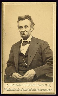 Abe Lincoln     ...the 16th president