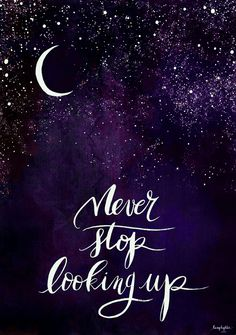 Motivation Quotes : Lune Sombre et Lâcher prise. - About Quotes : Thoughts for the Day & Inspirational Words of Wisdom Inspirational Quotes For Teens, Great Quotes, Quotes To Live By, Inspiring Quotes, Look Up Quotes, Goodnight Quotes Inspirational, Head Up Quotes, Quotes For Hope, Chin Up Quotes