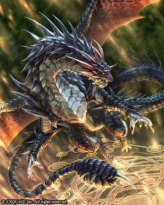 Dragons Shadow Chaddy's Crystal Dragon Gradel (c) so-room.com