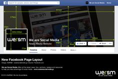 Get Ready For The New Facebook Page Layout [infographic]   WeRSM   We Are Social Media