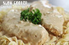 Slow Cooker Stroganoff