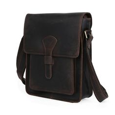 42e03317b0 Distressed Leather iPad Case Messenger Bag Crossbody Holder Thick Genuine  Leather--FREE SHIPPING
