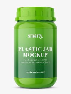 Pharmacy jar, used in the pharmaceutical or medical industry as the package for tablets, pills, or capsules. Plastic Bottles, Pharmacy, Pills, Cali, Mockup, Packaging Design, Medical, Pet Plastic Bottles, Plastic Water Bottles