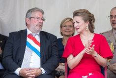 Princess Stephanie and Prince Guillaume visited Esch   NEWMYROYALS & HOLLYWOOD FASHION