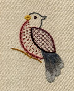 Jacobean Embroidery | little bird jacobean crewel work embroidery £ 22 99 see delivery ...
