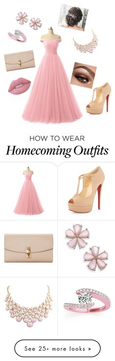 """""""Untitled #1"""" by andreeaop on Polyvore featuring Christian Louboutin, Dolce&Gabbana, Allurez and Lime Crime"""