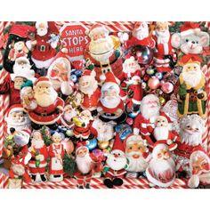Cool #Go4USA Product…  Crazy Santas - 1000 Piece Jigsaw Puzzle at Amazon .com