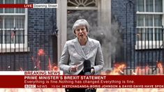 Now we go live to Downing Street by Sketchaganda Theresa May News 15, Bbc News, Everything Is Fine, Theresa May, Boris Johnson, Live, Street, Fictional Characters, Walkway