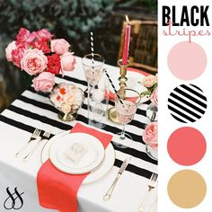 Wedding Color Schemes | Lifestyle blog celebrating simple style in everything from interiors and fashion to weddings and events.