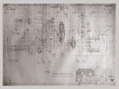 Porsche 550, Technical Drawings, Mechanical Design, Car Stuff, F1, Techno, Illustrator, Vehicle, Engineering