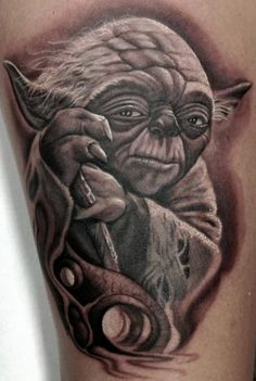 yoda tattoo - Google Search