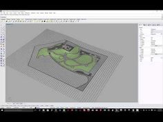 Site Modeling in Rhino - The Healing Garden - YouTube