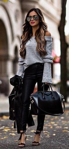 Comfy Winter Fashion Outfits For Women 19 Winter Fashion Outfits, Trendy Outfits, Winter Outfits, Autumn Fashion, Cute Outfits, Urban Chic Outfits, Super Moda, Fashion Mode, Womens Fashion