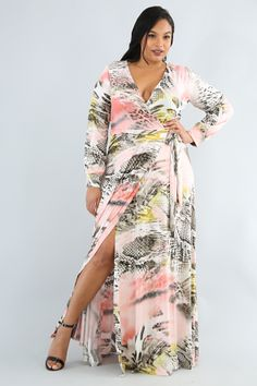 fefd3a58666 GitiOnline. Plus Size DressesStylistsPlus Size Outfits. Marbleized Maxi  Dress