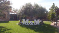 La Masía Les Casotes | Photocall  #boda #photocall  #decoración #inspiracion