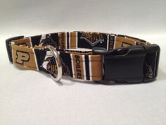 Purdue Dog Collar by ALeashACollar on Etsy