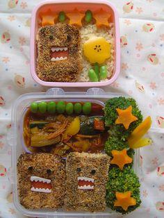 domo-kun lunch