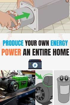 Create Your Own Energy To Power A Home