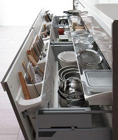Modern – ombiaiinterijeri Luxury Kitchen Design, Best Kitchen Designs, Luxury Kitchens, Interior Design Kitchen, Cool Kitchens, Small Kitchens, Kitchen Floor Plans, Kitchen Flooring, Kitchen Soffit