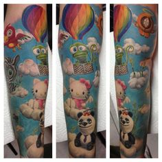"""Absolutely Fantastic Color Work By Randy Engelhard """"Heaven Of Colours."""