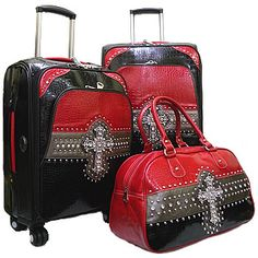 Montana West Luggage RBCL001  Red-B /