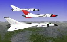 Avro CF-105 Arrow trio