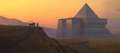 ArtStation - Pyramid, Richard Wright