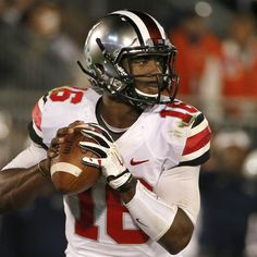 Ohio State freshman quarterback J.T. Barrett is the new single-season touchdown king in the Big Ten after tallying his 43rd total touchdown early in the Buckeyes' rivalry clash with Michigan...