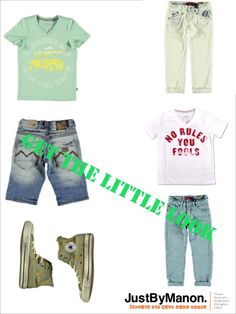 Outfit for boys Blue Rebel