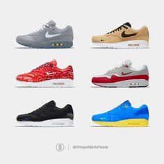 Bunch of Nike Air Max 1 concepts that I made Air Max 1, Nike Air Max, Sneakers, Concept, Shoes, Fashion, Fashion Styles, Tennis, Moda