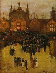 John Lavery - The Glasgow International Exhibition, 1888