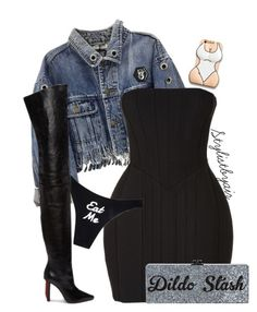 """""""Untitled #6632"""" by stylistbyair ❤ liked on Polyvore featuring Balmain and Vetements"""