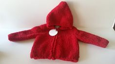 New Angel Dear Red Chenille Hooded Jacket Baby 0-6 Months Long Sleeve Boy Girl #AngelDear #Jacket #EverydayHoliday
