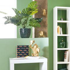 @kika.at • Instagram-Fotos und -Videos Floating Shelves, Videos, Instagram, Home Decor, Green And Brown, Decoration Home, Room Decor, Wall Shelves, Home Interior Design