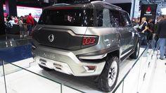 SsangYong XAV Concept  -  Exterior Walkaround