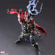 Hardcore Thor Variant Action Figure from Square Enix