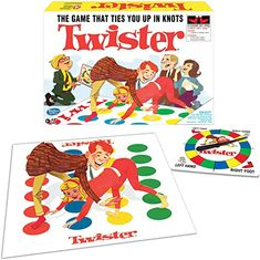 Amazon.com: Winning Moves Games Classic Twister : Toys & Games Twister Board Game, Netflix Games, Summer Gift Baskets, Self Regulation Strategies, Two Player Games, Vintage Board Games, Games To Buy, Funny Games