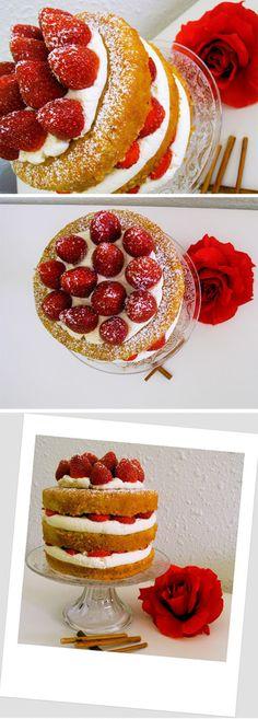 Tarta 'Victoria Sponge Cake'