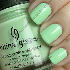 re-fresh mint / China Glaze Up & Away Spring 2010