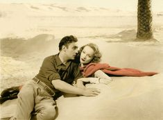 Marlene Dietrich and Charles Boyer in The Garden of Allah directed by Richard Boleslawski, 1936 Marlene Dietrich, Film Fantastic, Great Films, Garden Of Allah, Divas, Tallulah Bankhead, Film Up, Claude Rains, The Golden Years