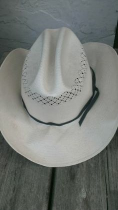 Men's Cowboy Hat..Cream in color... $16 sold!! But this was a cool hat!!