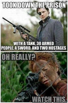 Carol - The Walking Dead funny meme